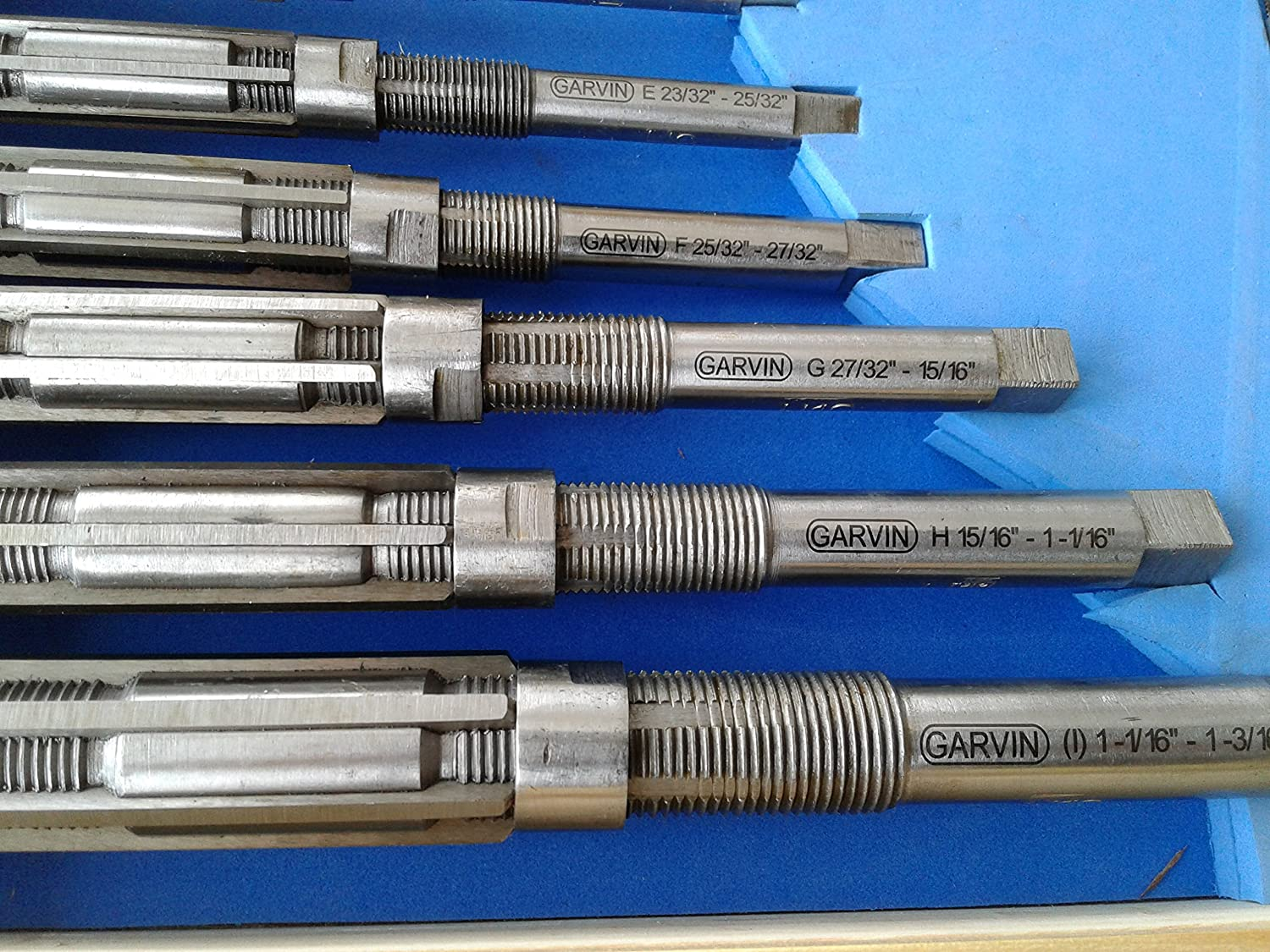 """HSS New 9Pcs H4-H12 15//32/"""" to 1-3//16/"""" Adjustable Hand Reamers Set A-I"""