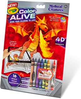 crayola color alive action coloring pages mythical creatures - Color Alive Coloring Pages Minions