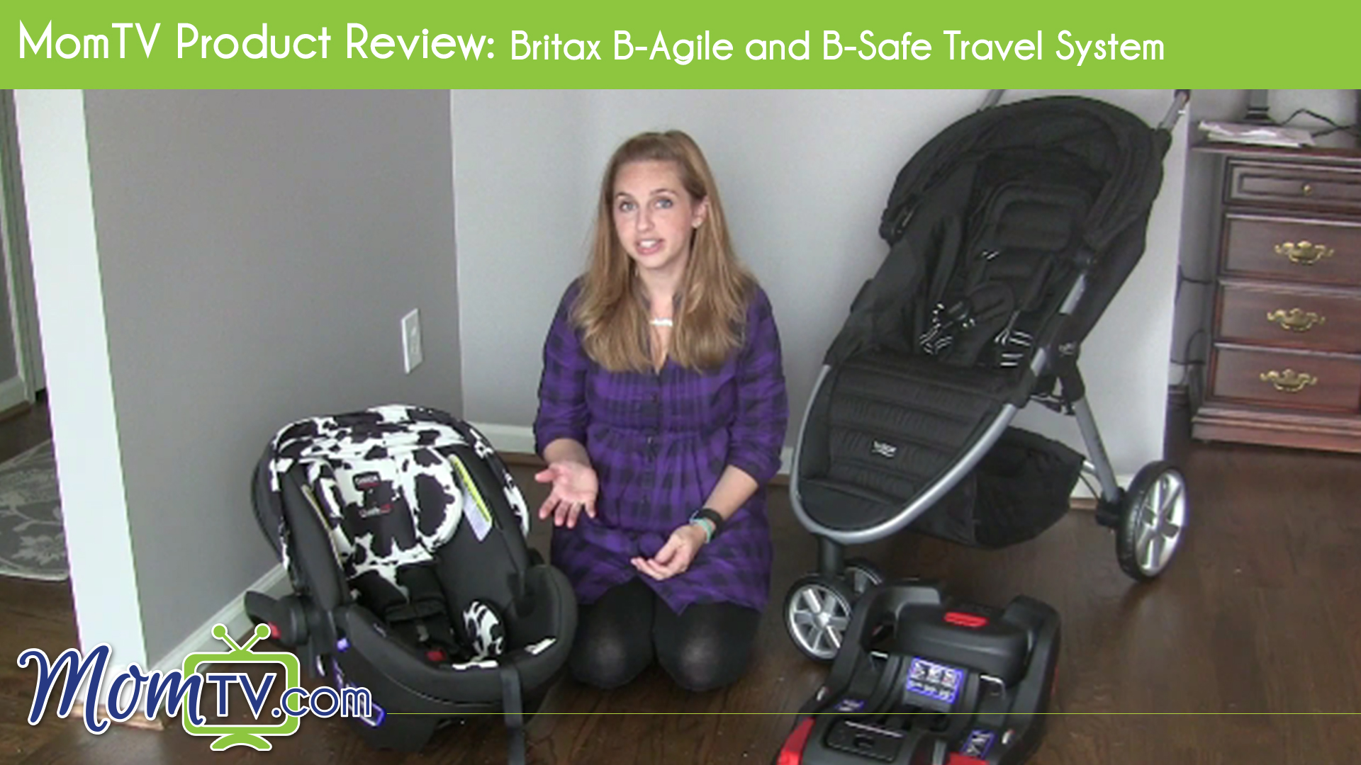 Review  Britax B-Agile and B-Safe Travel System e2442c2fd