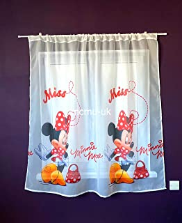 Katiesboutique ltd Beautiful Children Kids Voile Net Curtains 225cm x 150cm Frozen, 89 x 59