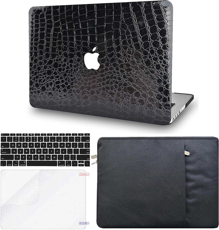 KECC Leather Case Compatible with MacBook Pro 13