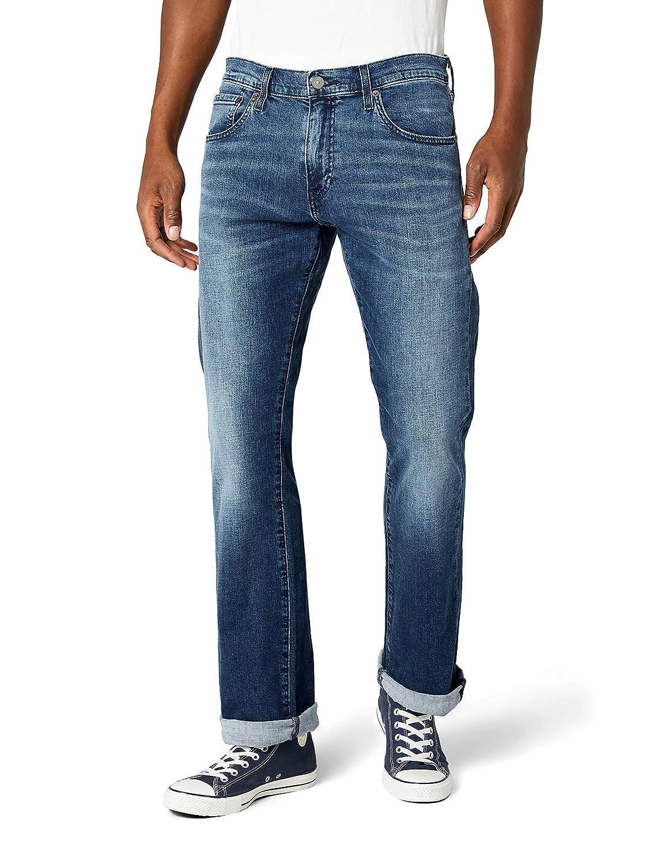 TALLA 36W / 32L. Levi's 527 Slim Boot Cut Vaqueros Corte de Bota para Hombre