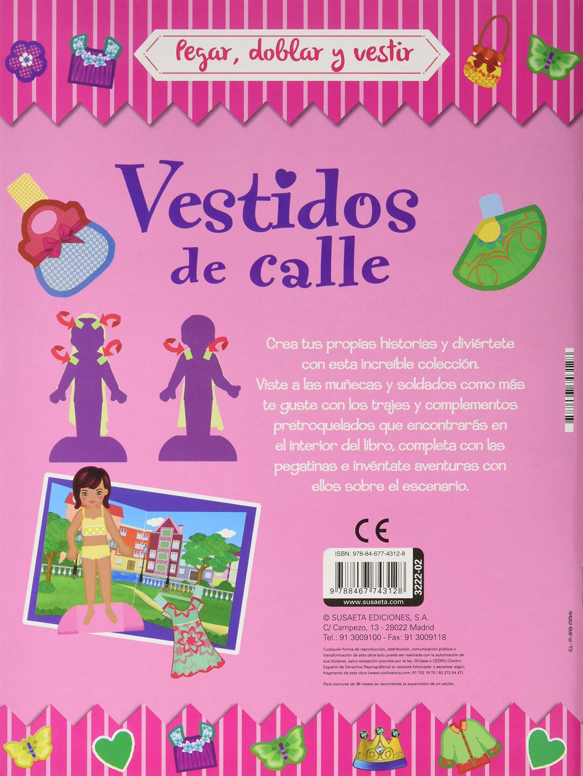 PEGAR, DOBLAR Y VESTIR (4 TITULOS): 9788467743128: Amazon.com: Books