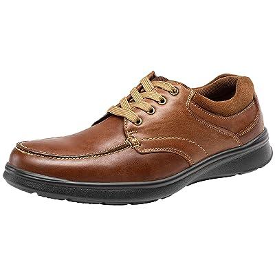 JOUSEN Men's Oxford Leather Casual Shoes for Men Retro Business Casual Shoes | Oxfords