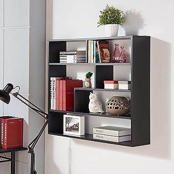 Danya B  Large Rectangular Black Shelf Unit. Amazon com  Danya B  Large Rectangular Black Shelf Unit  Home