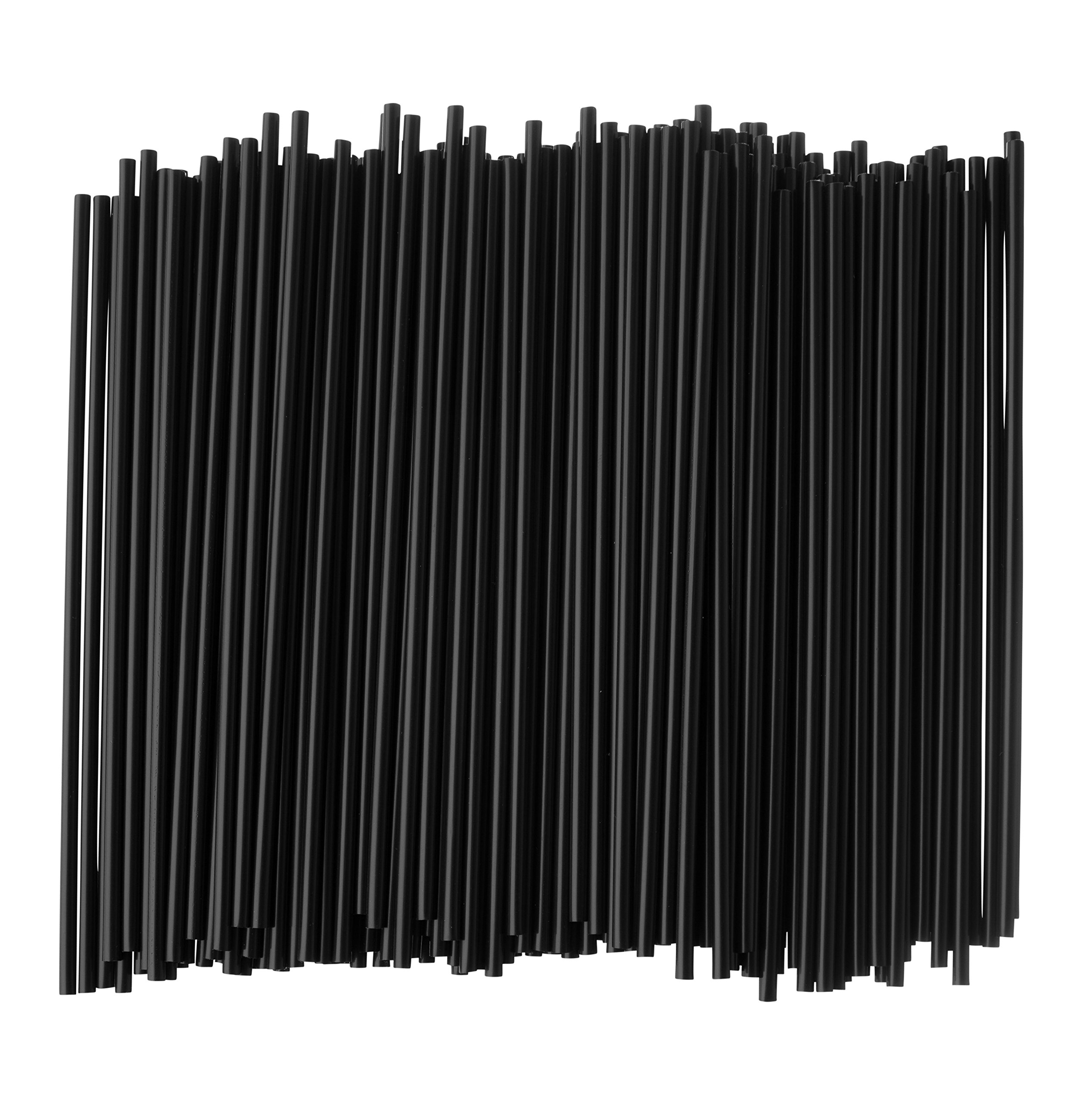 Crystalware, Plastic Stirrer, Sip Stirrer, For Coffee and Cocktail, 5 Inches, 1000/Box, Black by Crystalware (Image #3)