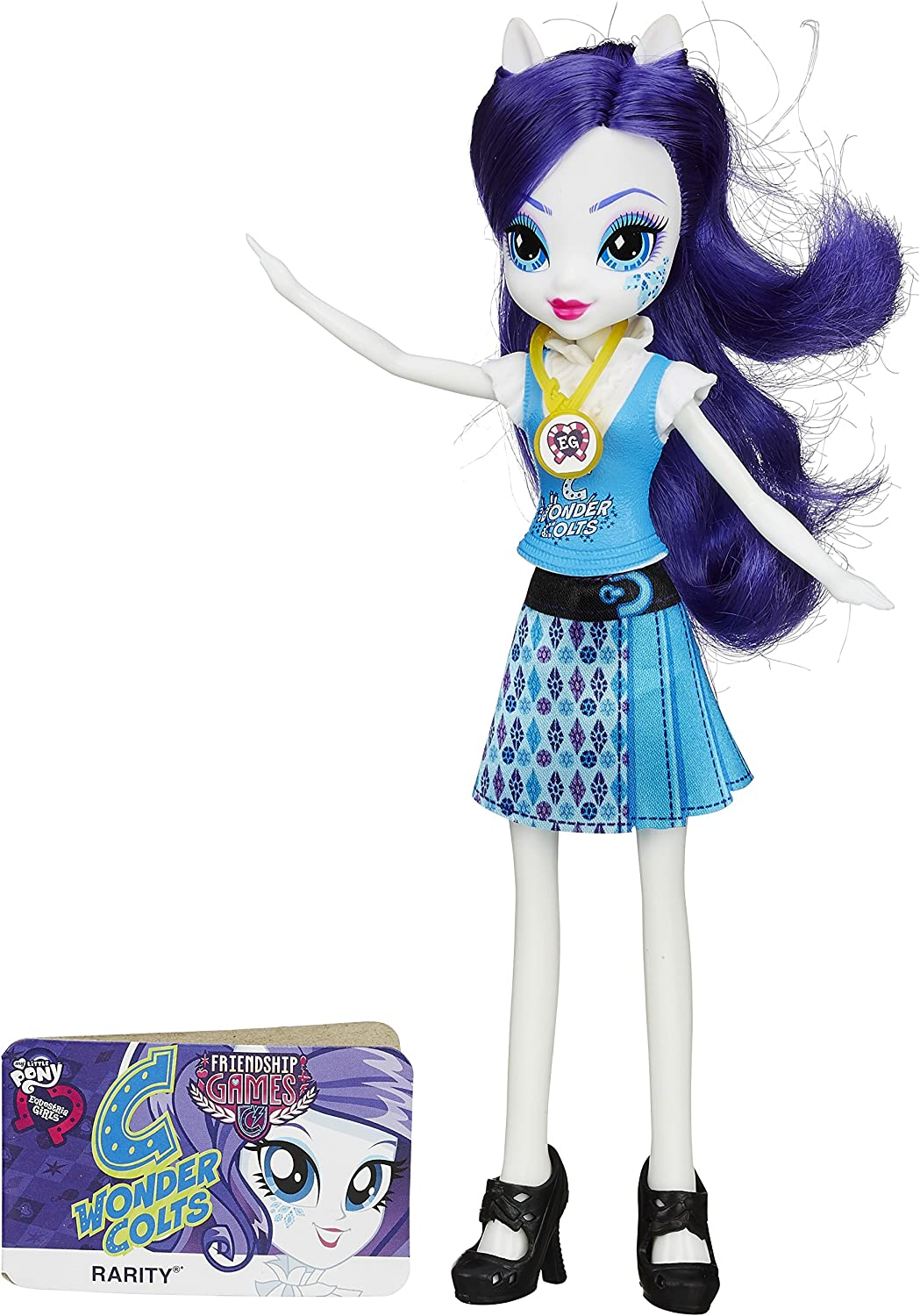 Amazon Com My Little Pony Equestria Girls Rarity Friendship Games Doll Toys Games