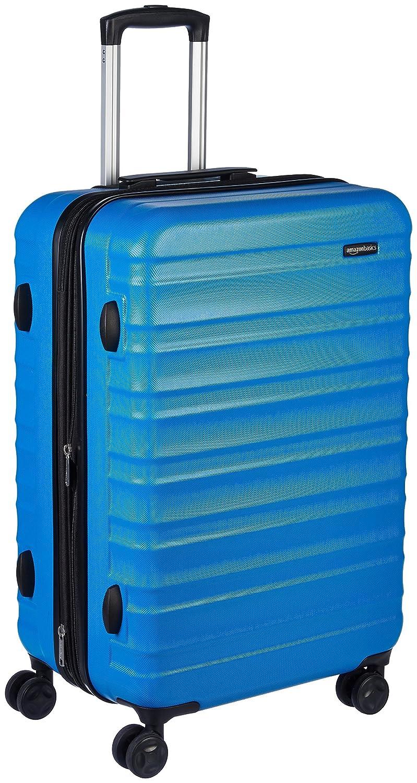 AmazonBasics Hardside Spinner Luggage - 24-inch, Burnt Orange N989
