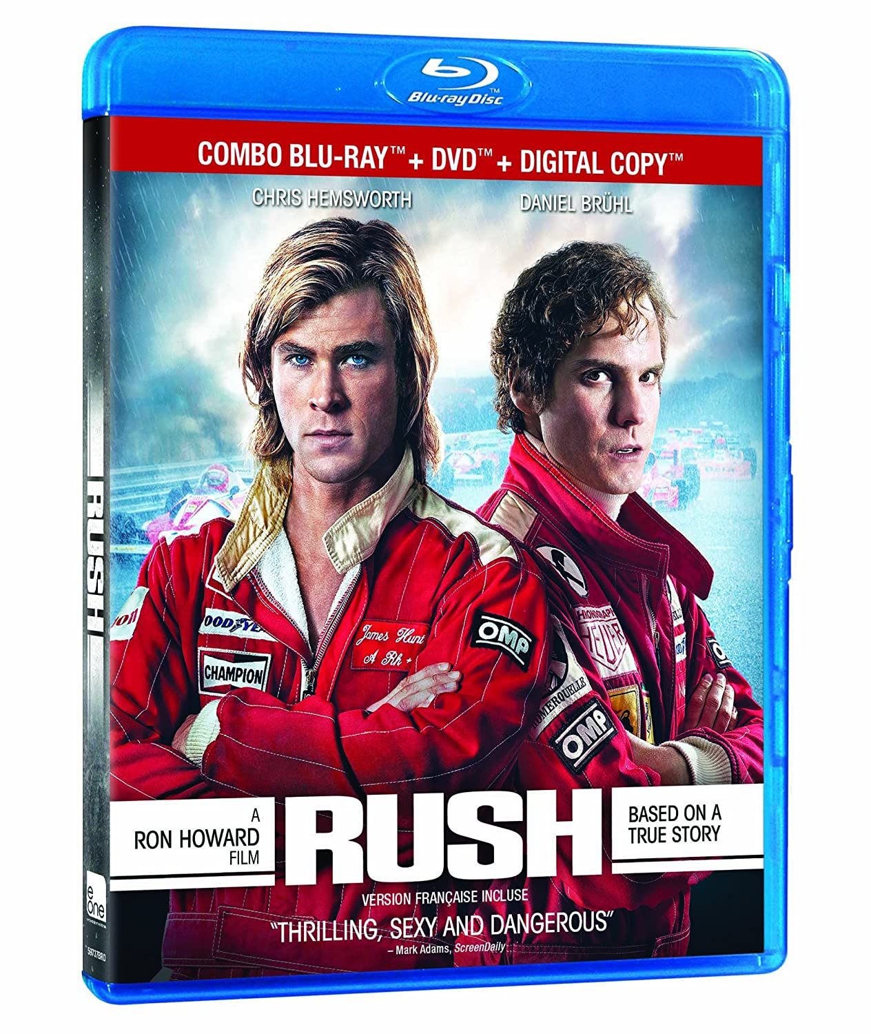 Rush [Blu-ray] Daniel Brühl Chris Hemsworth Olivia Wilde eOne