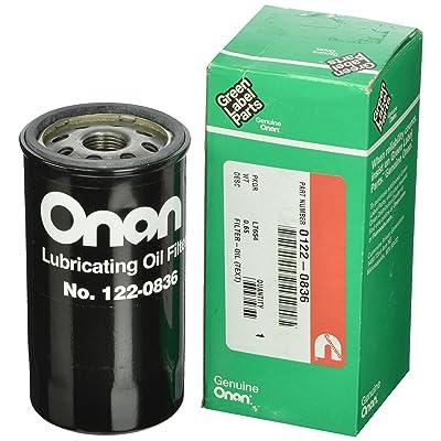 Cummins Onan 122-0836 Oil Filter: Automotive [5Bkhe0102239]