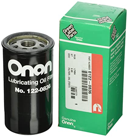 Cummins Onan 122-0836 Oil Filter