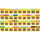 Play-Doh Modeling Compound 36-Pack Case of Colors (Amazon Exclusive), Non-Toxic, Assorted Colors, 3-Ounce Cans