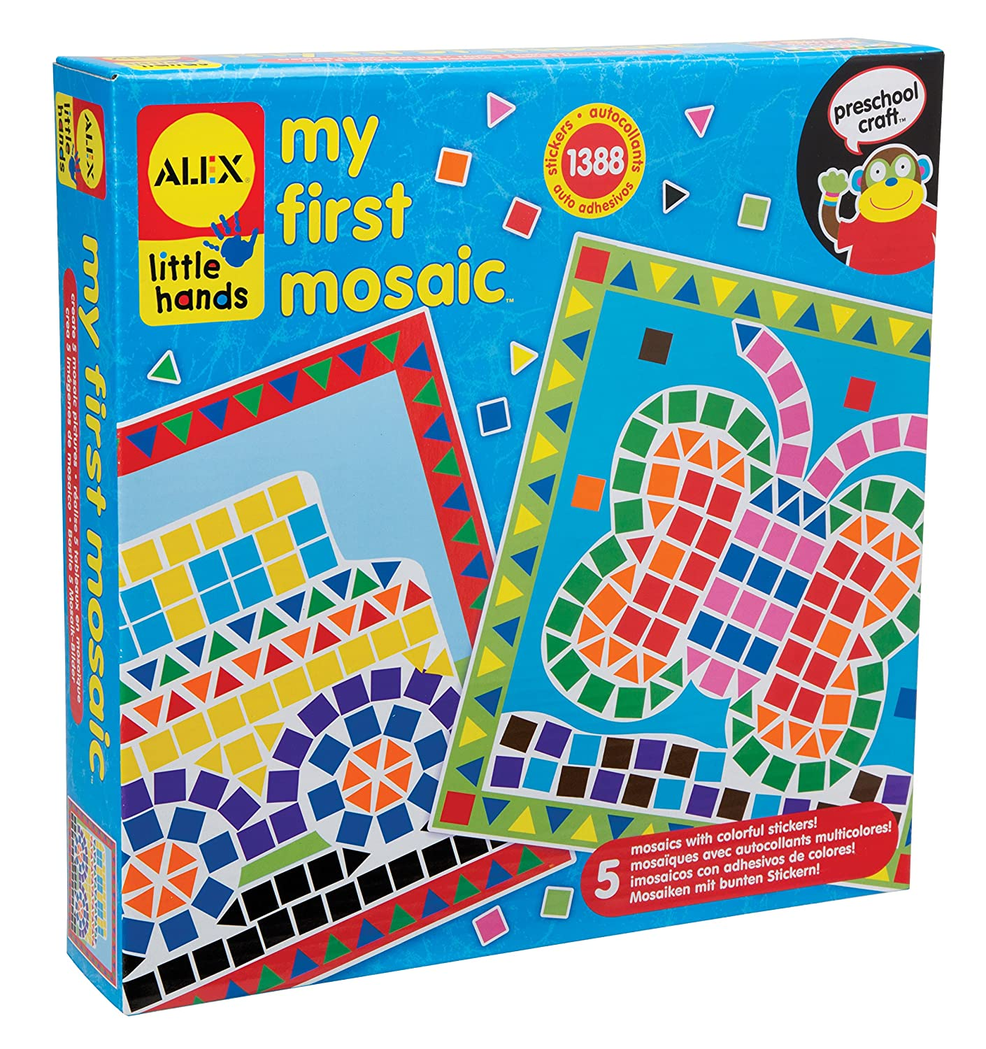 amazon com alex toys little hands my first mosaic toys games