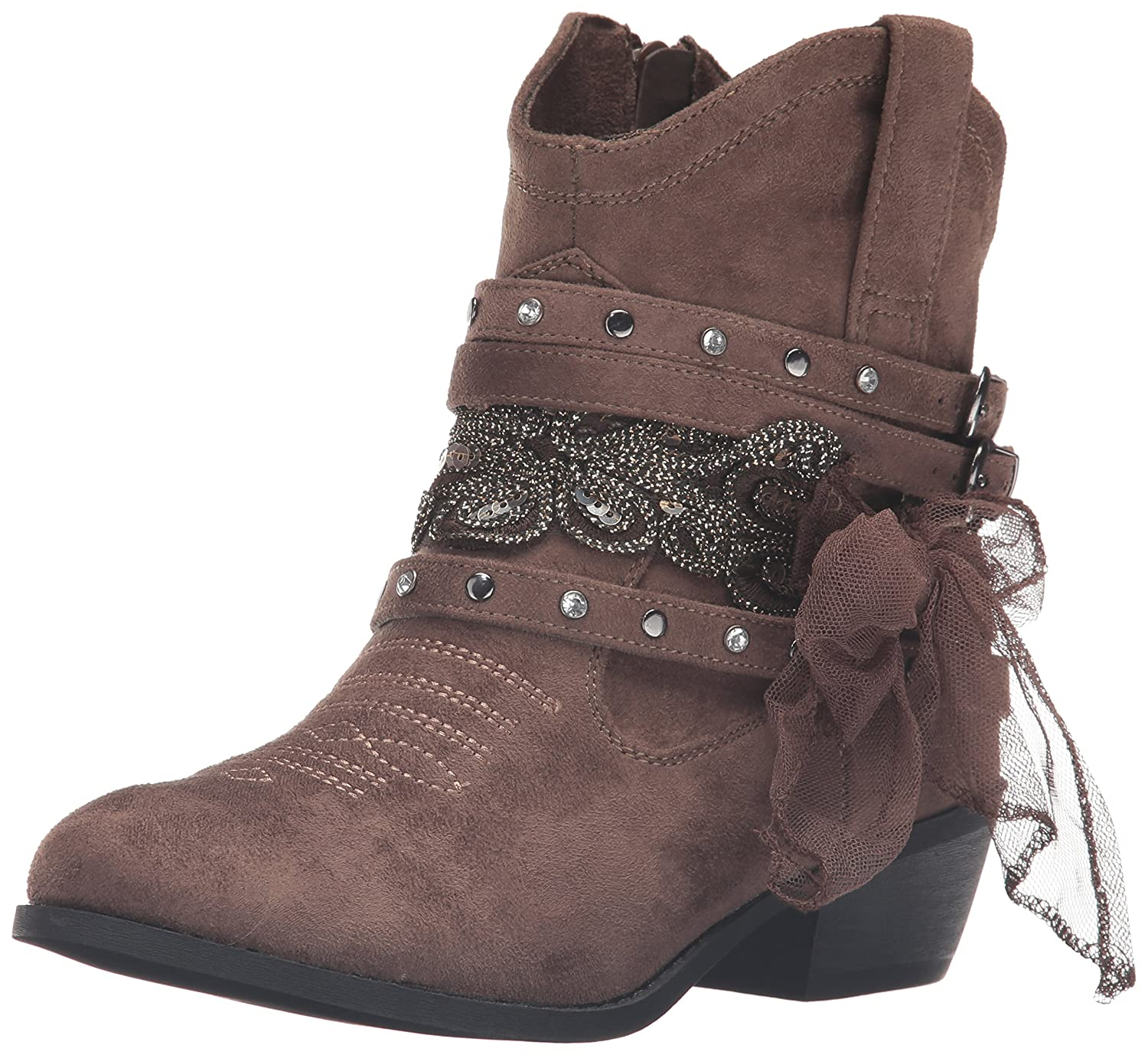 Not Rated Women's Midas Ankle Bootie B01F6BXG9E 6 B(M) US|Taupe