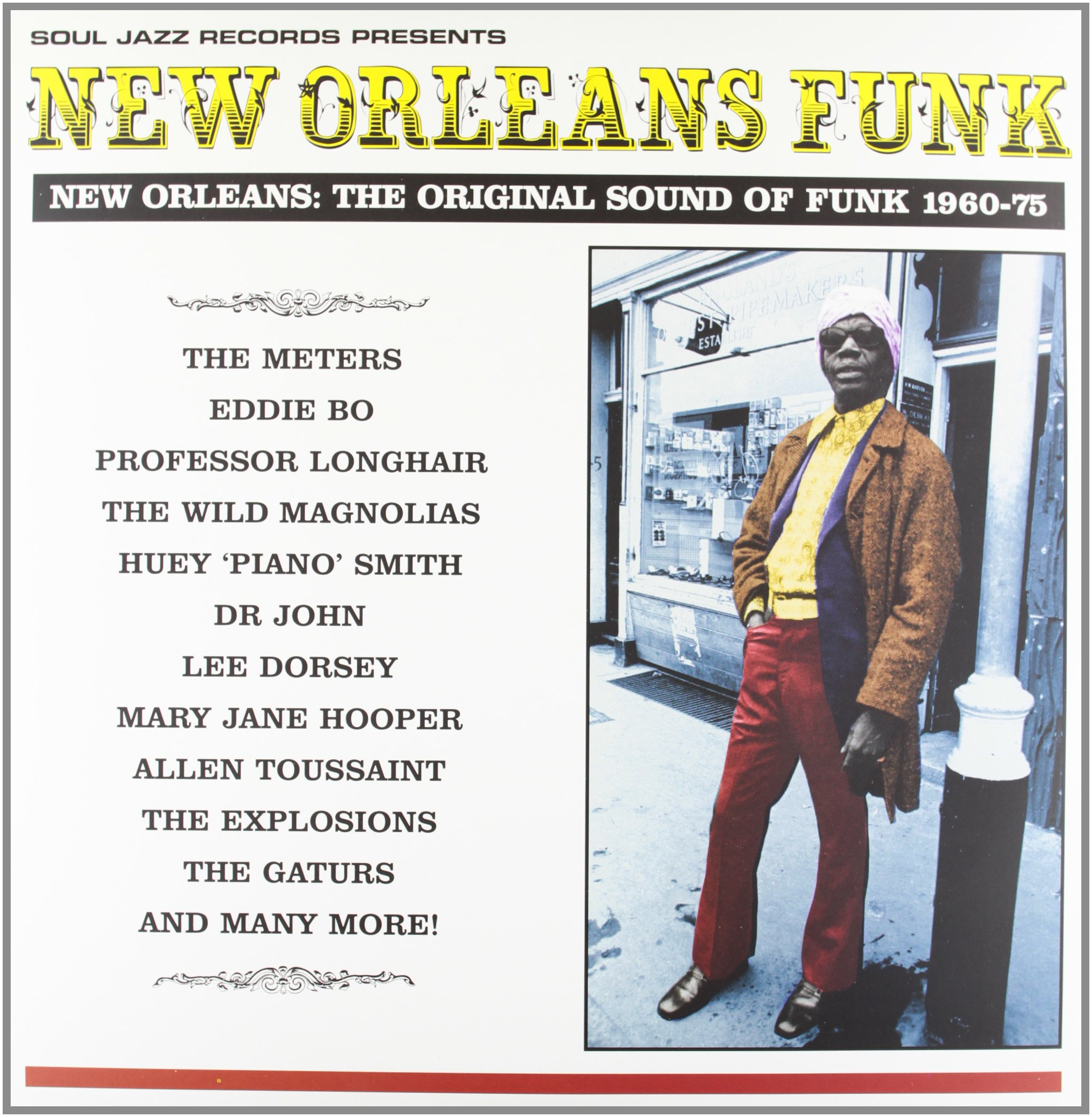 New Orleans Funk: New Orleans - The Original Sound of Funk 1960-75 by VINYL