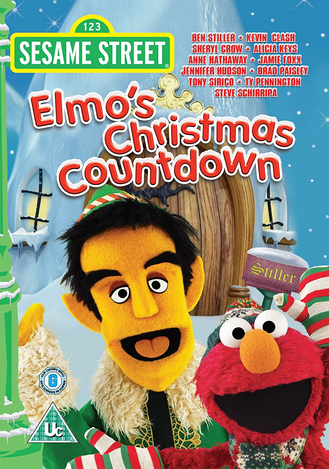 Elmo's Christmas Countdown [DVD]: Amazon.co.uk: Gary Halvorson ...