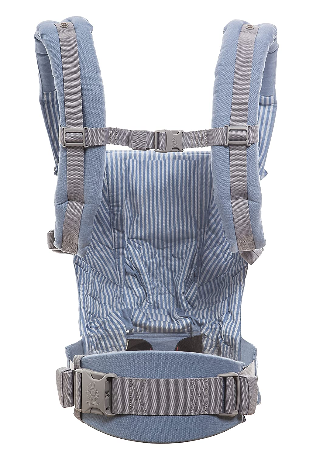 faac1d5cf73 Amazon.com   Ergobaby Adapt 3 Position Baby Carrier (Azure Blue)   Baby