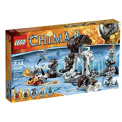 LEGO Legends of Chima 70226 Mammoth\'s Frozen Stronghold Building Kit: Toys & Games [5Bkhe0406322]