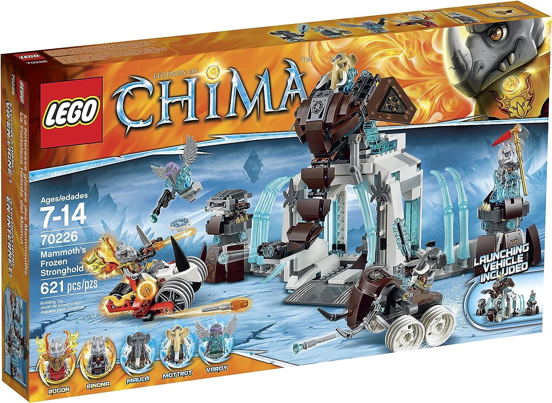 LEGO Legends Of Chima Maula Minifigure /& Mammoth Tusk Flipper