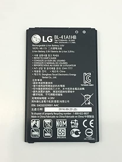 Amazon oem lg tribute hd boost mobile ls676 original battery oem lg tribute hd boost mobile ls676 original battery replacement bl41a1hb 2100mah 38v publicscrutiny Gallery