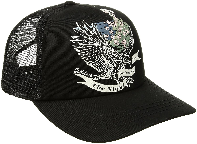 e91b3e2e9fe0ba Amazon.com: Billabong Women's Aloha Forever Trucker Hat, Black, One Size:  Clothing
