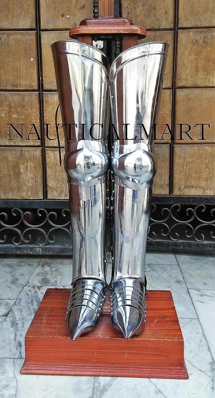NAUTICAL MART nautique Mart médiéval Armour jambe Guard Wearable Halloween–Leg Armour
