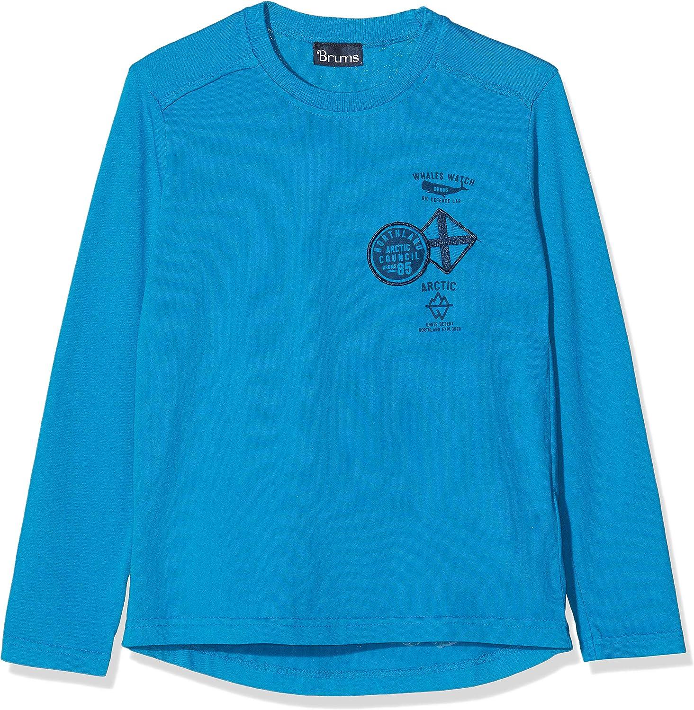 Brums T-shirt Jersey Over Dyed Maglietta a maniche lunghe Bambino