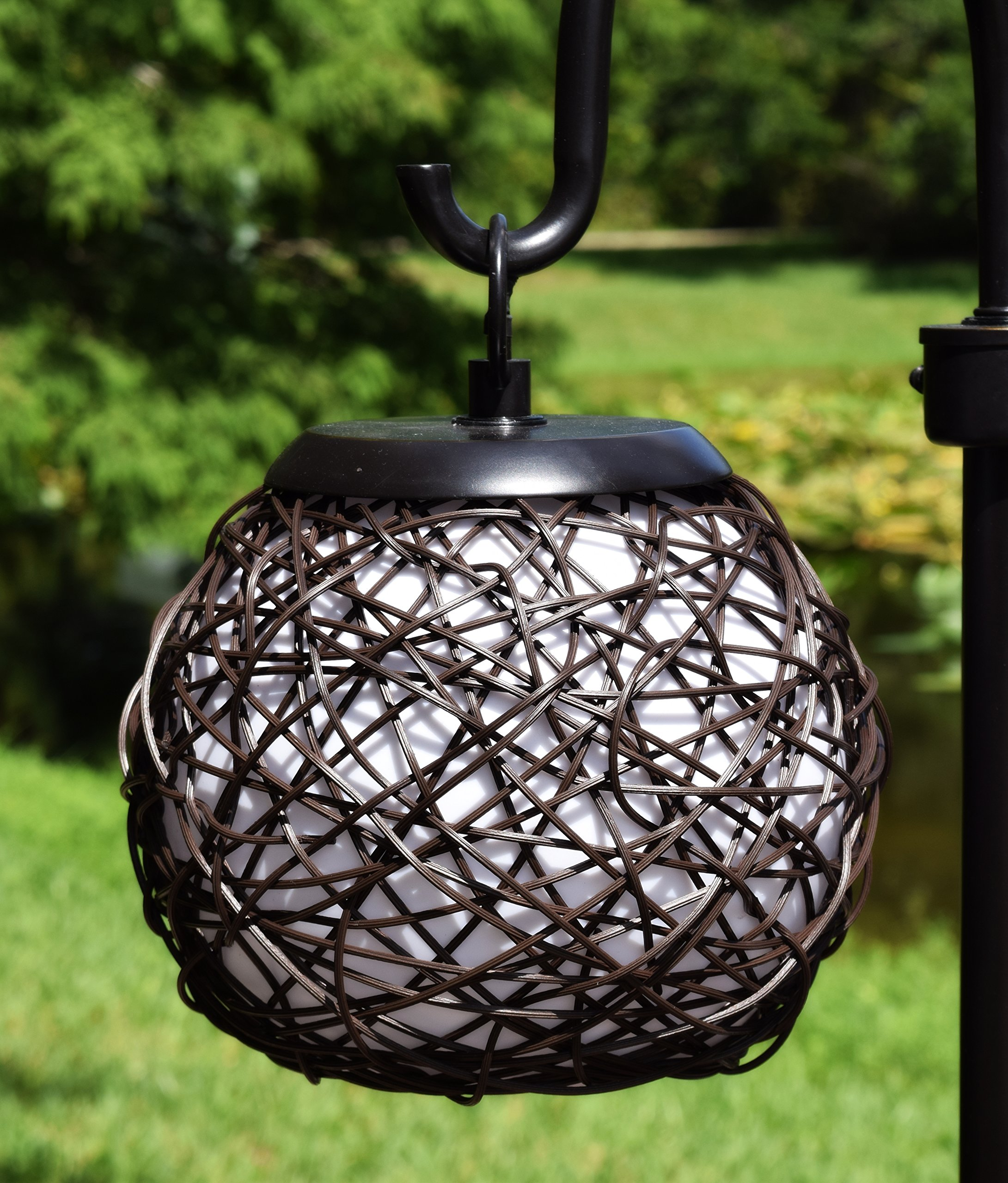 Kenroy Home 32245BRZ Castillo Outdoor Table Lamp, Bronze Finish by Kenroy Home (Image #4)