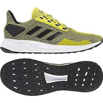 adidas Men Shoes Essential Duramo 9 Training Fitness Fashion Trainers  Yellow New (EU 39 1 2054e91b347
