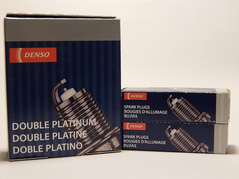 Amazon.com: 6 PCSNEW -- DENSO #3128 -- DOUBLE PLATINUM Spark Plugs -- PK20R11: Automotive