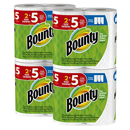 Review Bounty Select-a-Size Paper Towels,