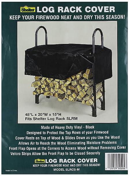 Amazon.com  Shelter SLRCS-M Firewood Storage Log Rack Cover d606dad0389b9