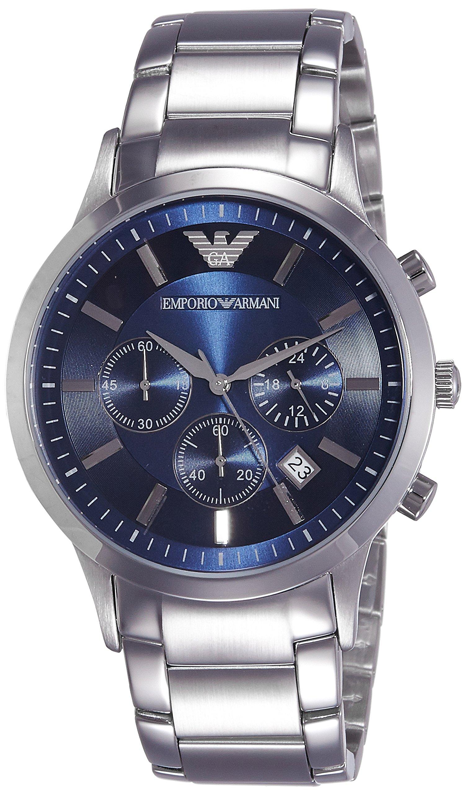 Emporio Armani Men's AR2448 Dress Silver Watch