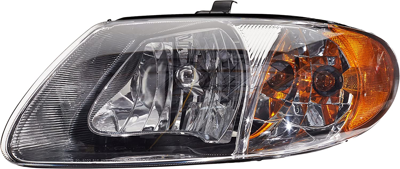 TYC 20-5220-00-1 Toyota Corolla Left Replacement Head Lamp