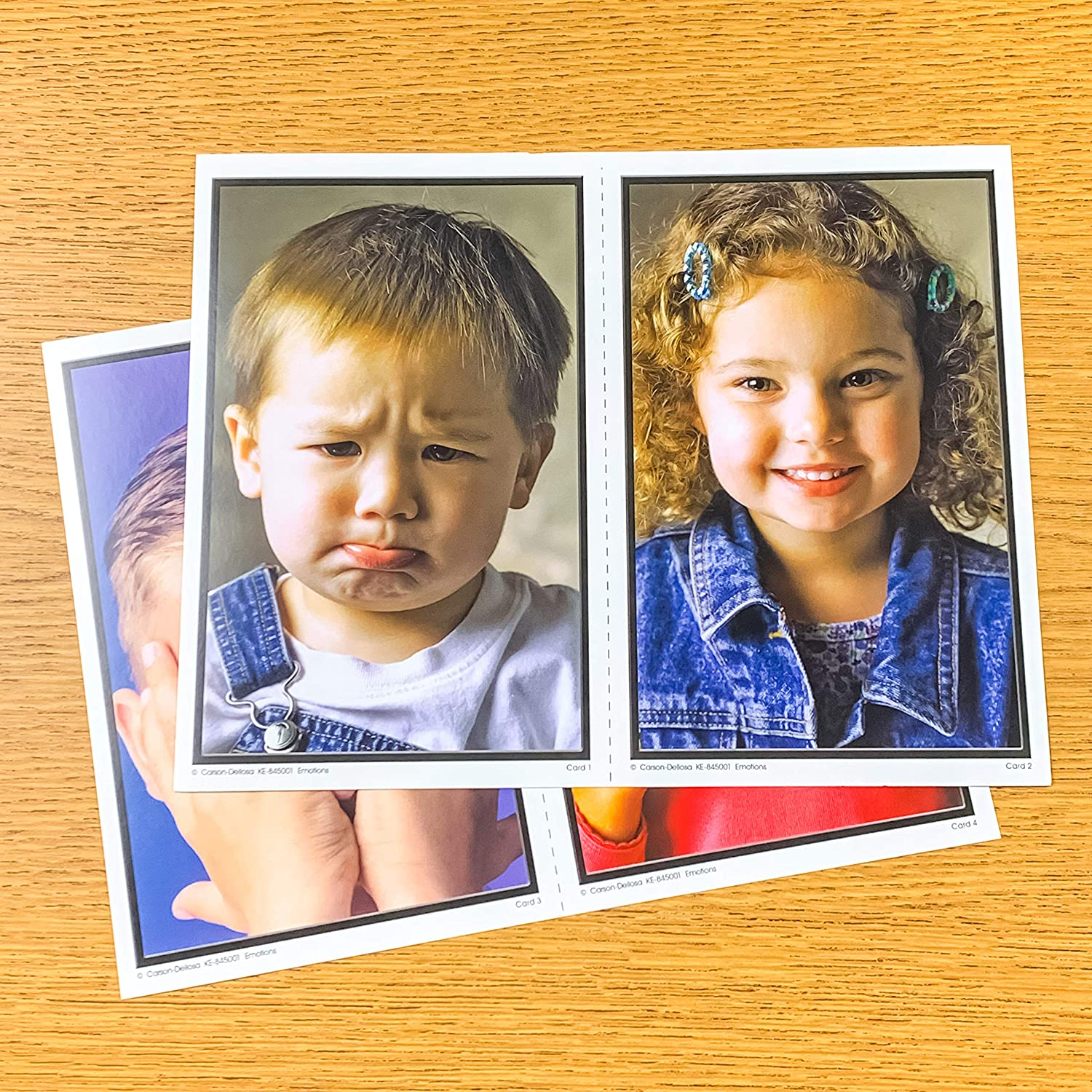 845001 Carson Dellosa Key Education Emotions Learning Cards