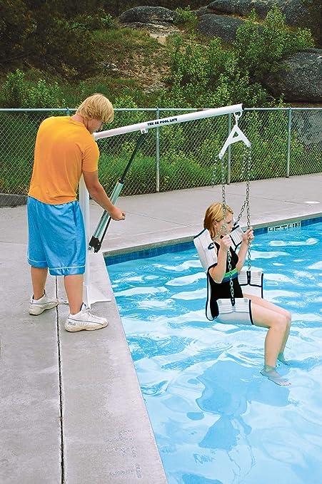 Amazon.com : Pro Pool EZ Pool Lift : Swimming Pool Safety ...
