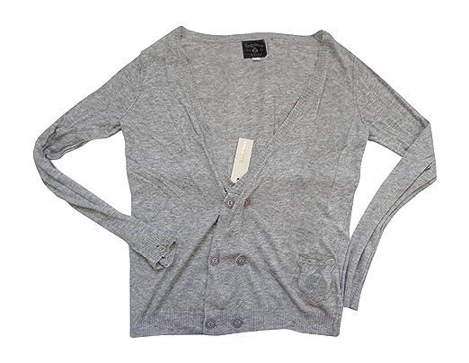 Diesel Jeans Happiness Dealer pour Homme Kirby Pull Bouton Avant Cardigan  en Cachemire Petite Noir 912 a658e7e21a2d