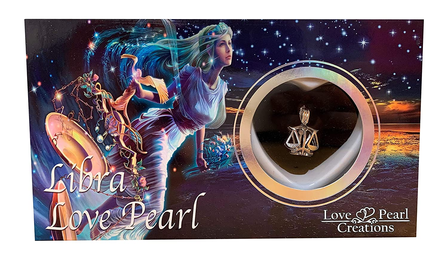 Love Pearl Zodiac Wish Kit with Pendant Necklace Taurus
