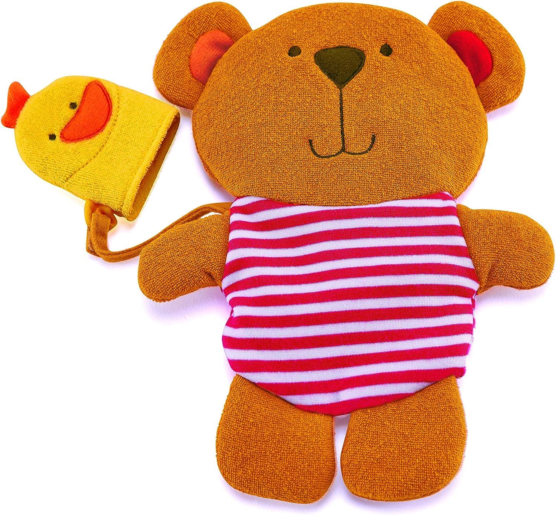 Hape E0200 Guanto Teddy con Amica Anatra
