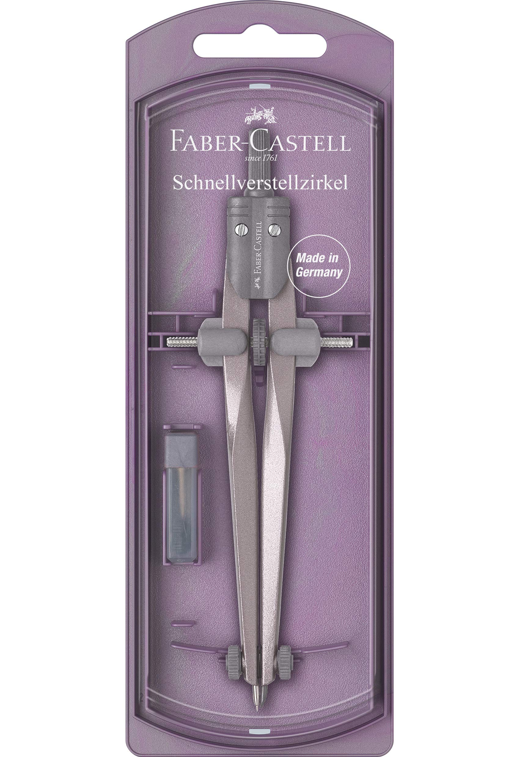 Faber-Castell Stream 2019 174500 Compass Assorted Colours Not Available by Faber-Castell