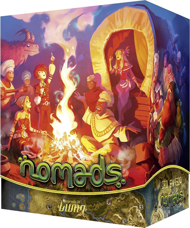 Leyendas de Luma- Nomads, Juego de Mesa (Ludonaute LDNO0001 ...