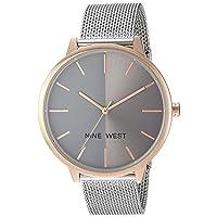 Women's NW/1981 Sunray Dial Mesh Bracelet Watch