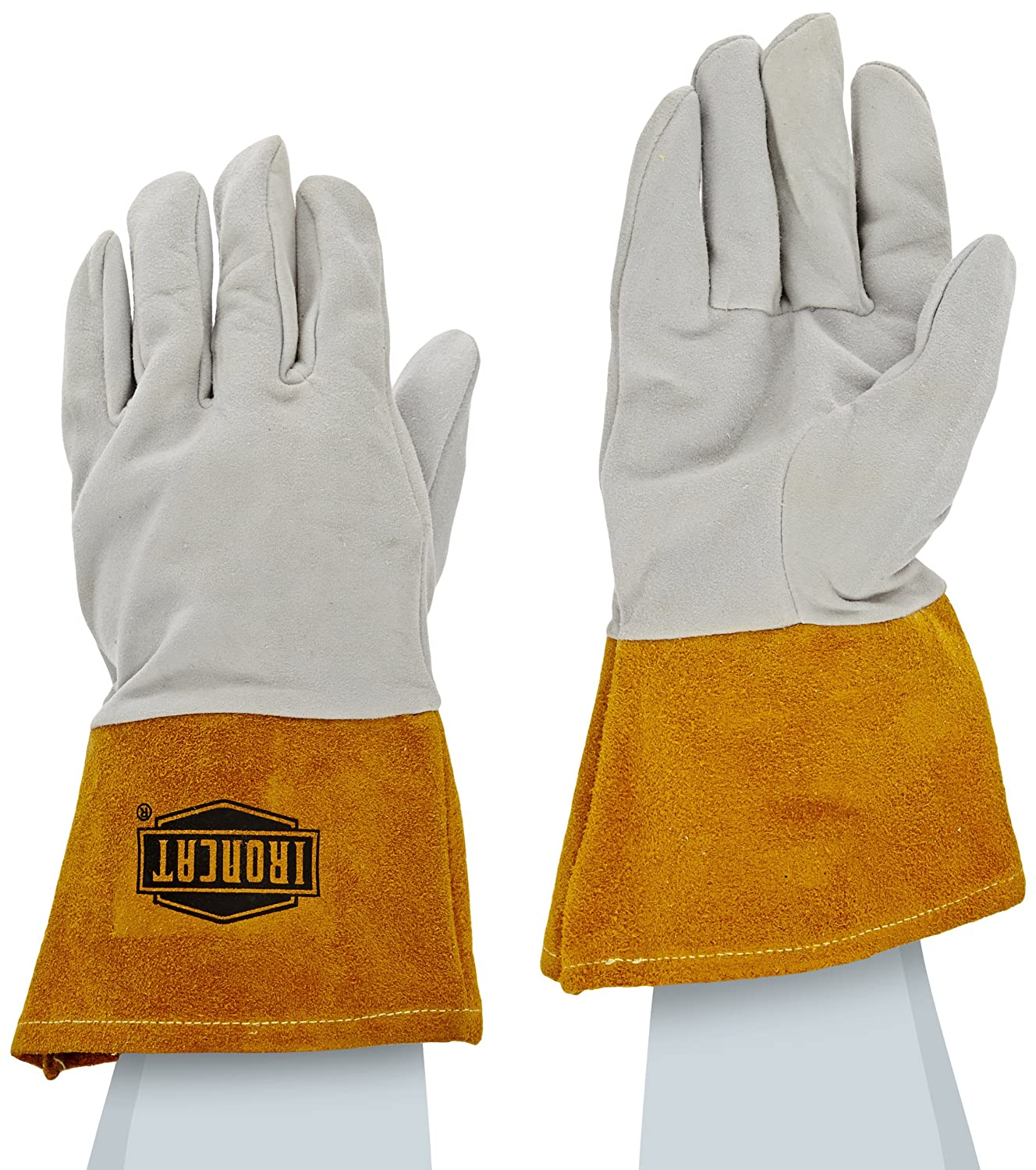 Leather work gloves for welding - Ironcat 6130 S Deerskin Leather Tig Welding Glove With 4 Split Cowhide Cuff Small Pearl Pack Of 1 Pair Welding Safety Gloves Amazon Com Industrial