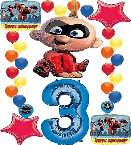 Amazon.com: The Incredibles - Globo de decoración para ...