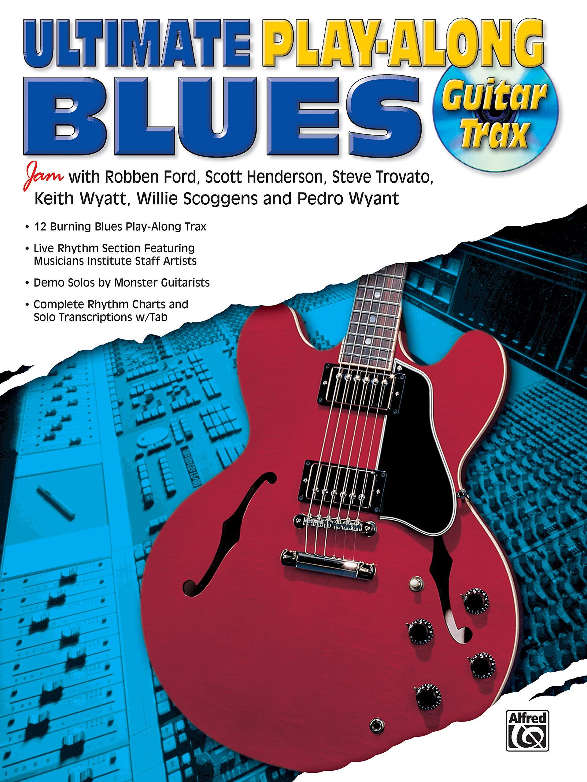 Amazon com: Ultimate Play-Along Guitar Trax Blues: Book & CD
