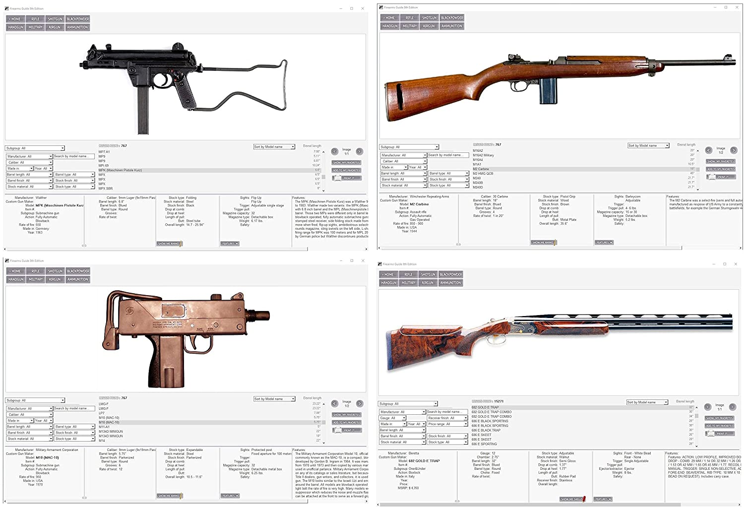 Firearms Guide 9th Edition Worlds Largest Gun 1911assemblydiagram Printable Schematics Exploded Reference Value Library Sports Outdoors
