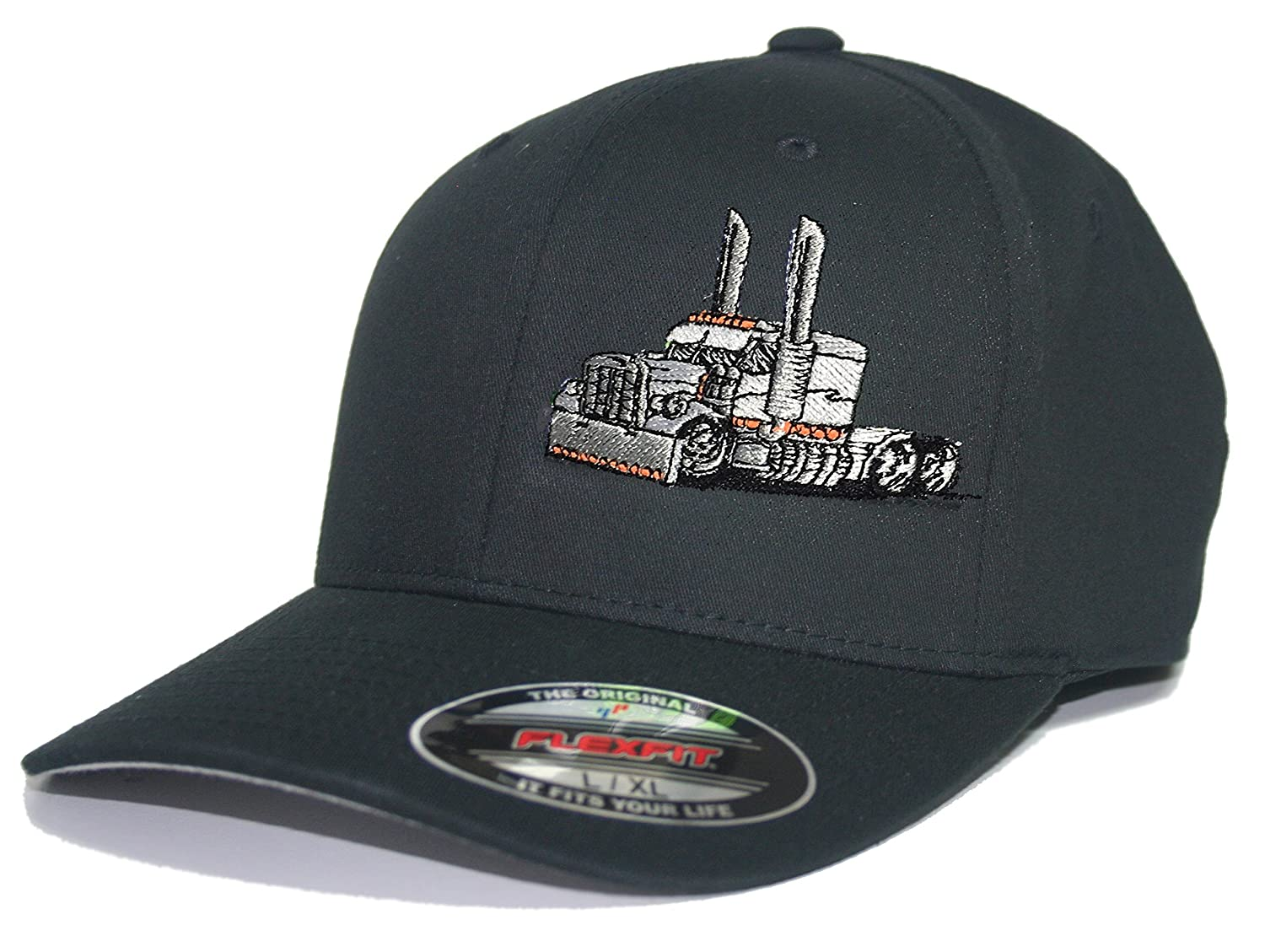 7306c983fd0ef JUST RIDE Trucker Hat Diesel Big RIG Cap Flexfit  Amazon.ca  Clothing    Accessories