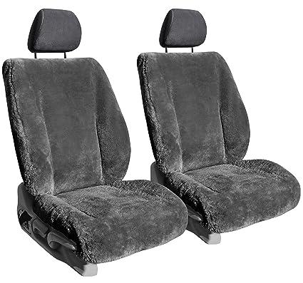 Front Seats: ShearComfort Custom Sheepskin Seat Covers for