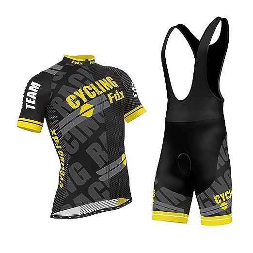 27 opinioni per FDX Pro-Maglia da ciclismo uomo a mezza manica da bici Team-Maglia da corsa, in
