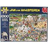 Jumbo Puzzle Jan van Haasteren The Zoo 1000 Piece Jigsaw Puzzle
